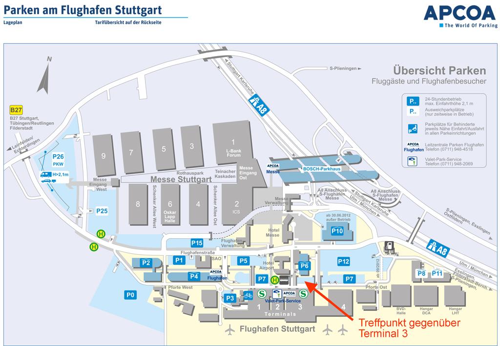 Stuttgart Flughafen Parken Vinpearl Baidai Info